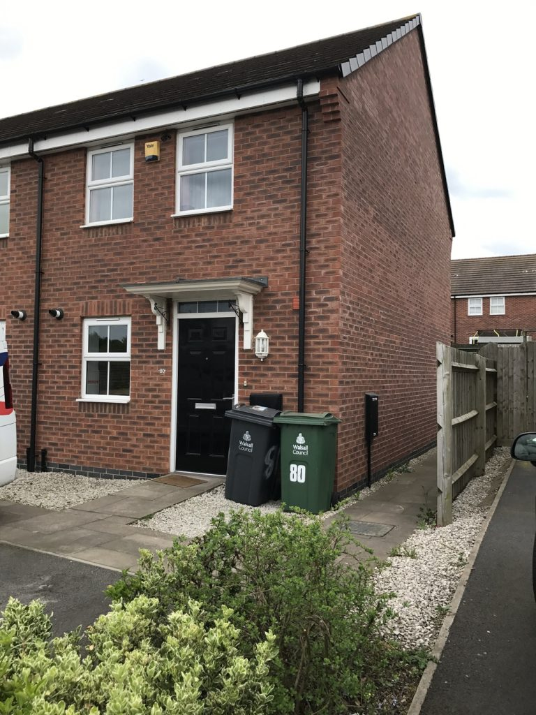 Water reed Grove, Bloxwich, Walsall, WS27AE